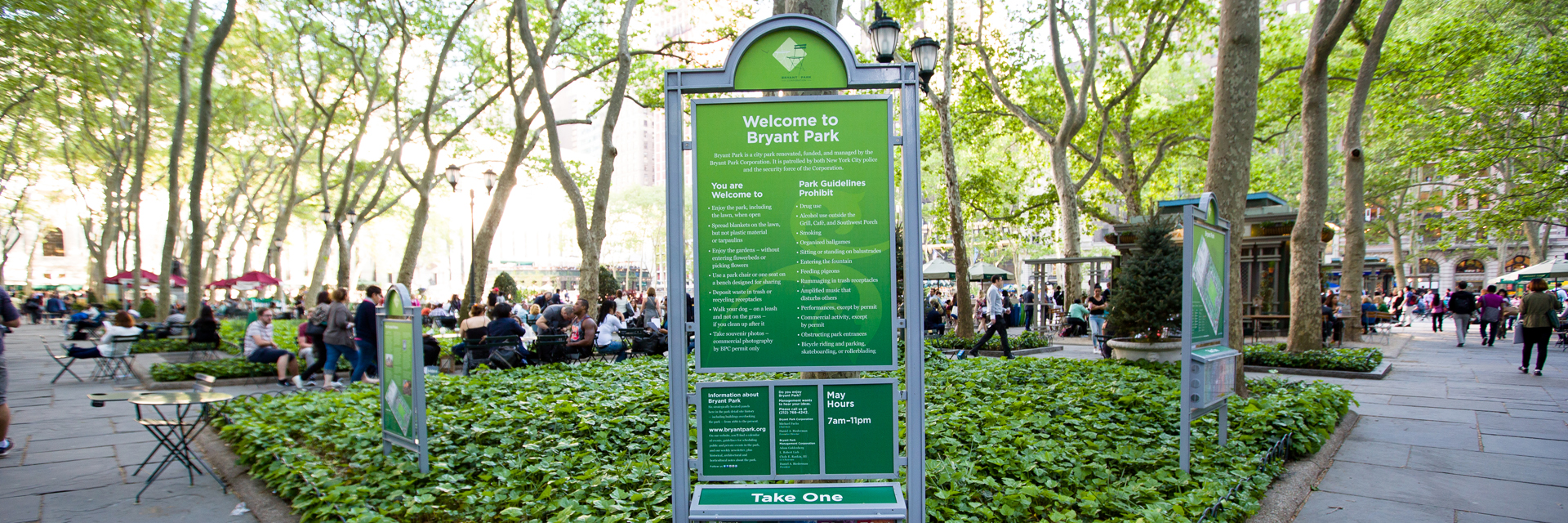 Bryant Park by Season | Archer Hotel New York
