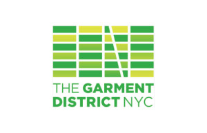 New logo of New York's Garment District Alliance