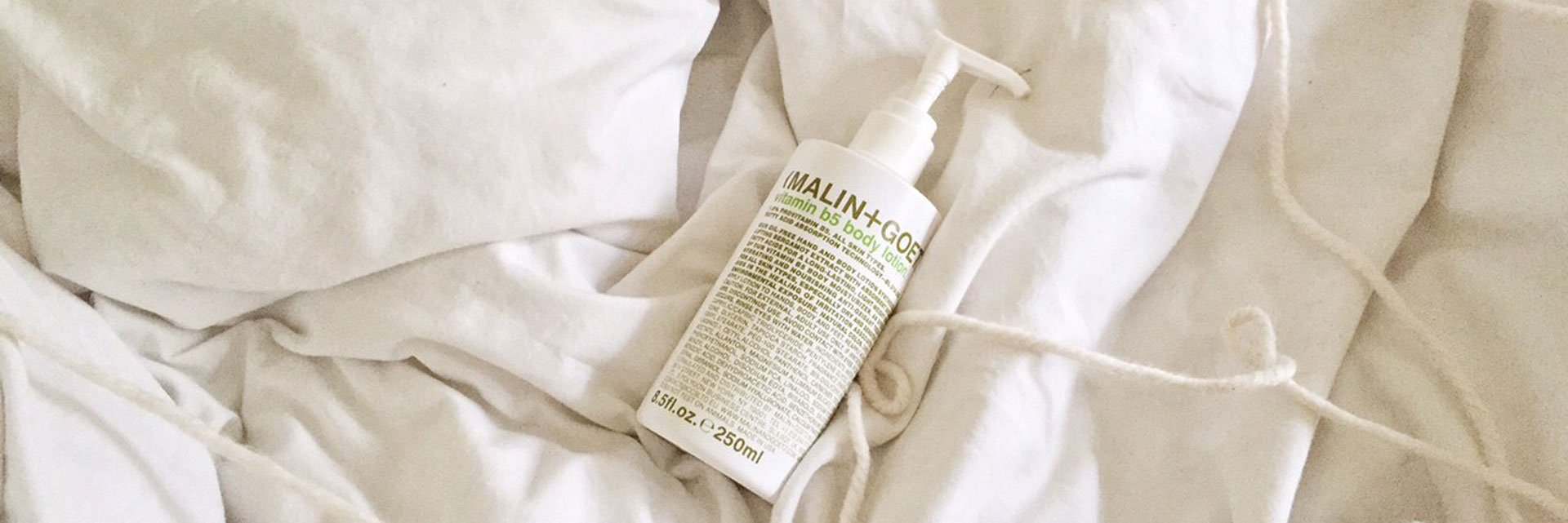 malin + goetz vitamin b5 body lotion
