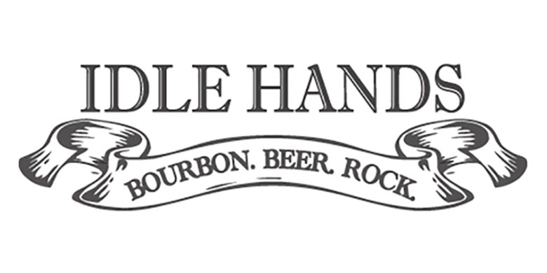Idle Hands Bourbon Beer Rock Logo
