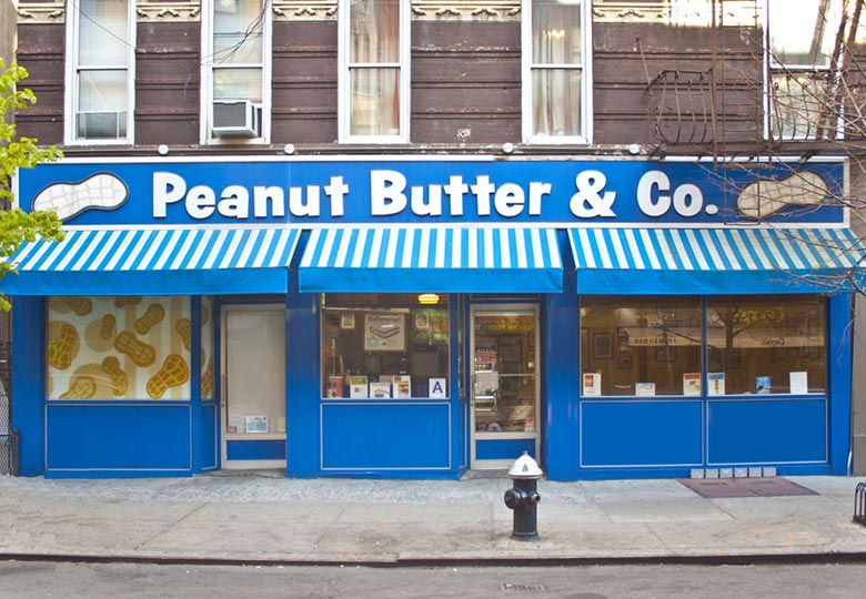 Peanut butter and company exterior