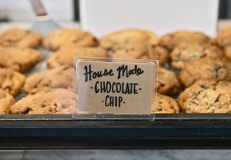 Culture Espresso House Made Chocolate Chip Cookies