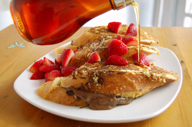 Penelope's delectable French toast