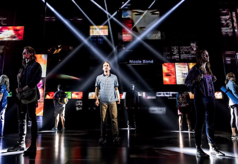 Dear Evan Hansen at the Music Box Theatre