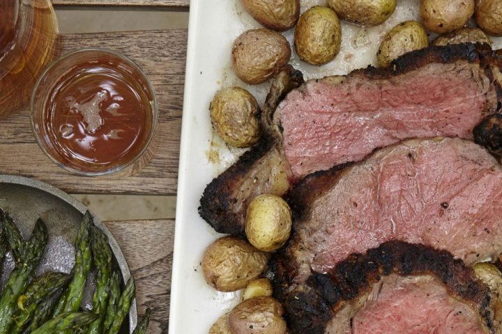 Recipe: Florentine Roasted Strip Loin from Charlie Palmer