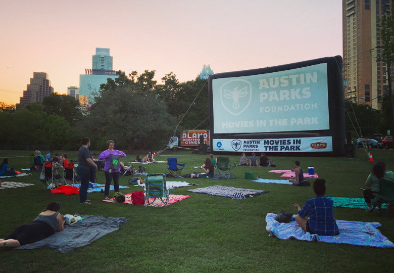 Austin Parks Foundation: Movies in the Park Screening