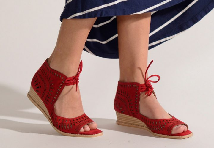 Marmi red shoes
