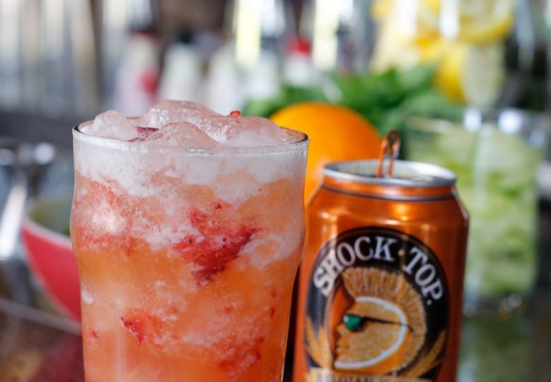 Culinary Dropout Cocktail with Shock Top Beer