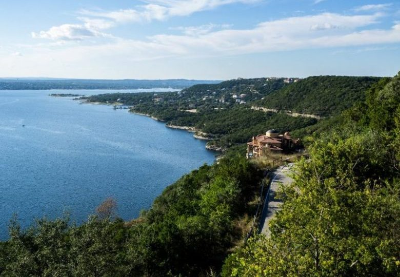 View Over Lake Travis