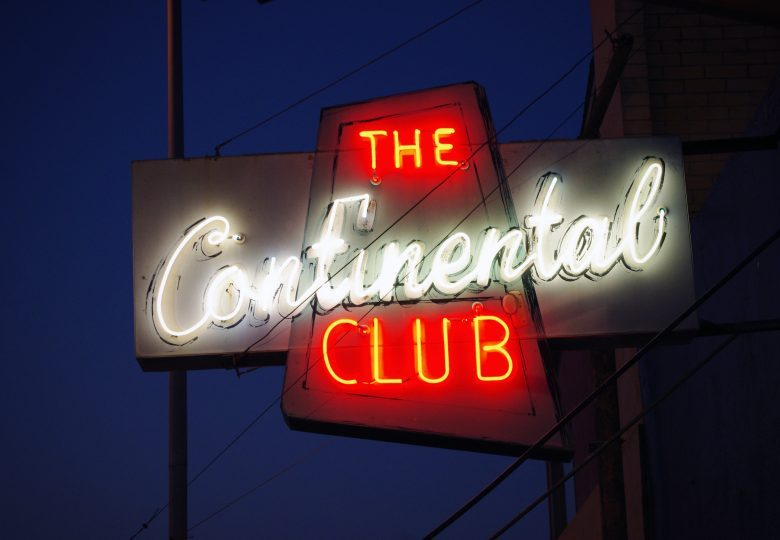 The Continental Club in Austin, TX