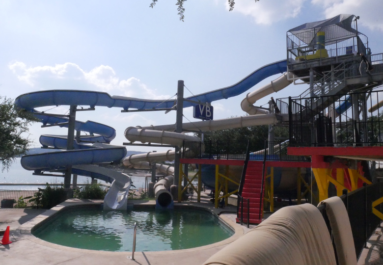 Beachside Billys water slide