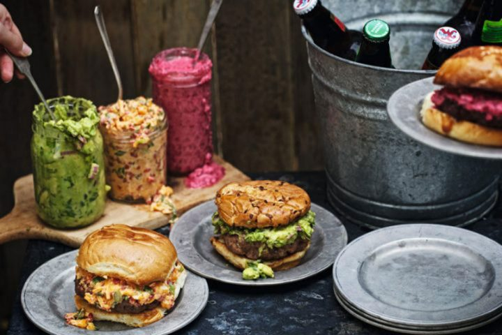 Recipe: Charlie Palmer's Classic Beef Burgers