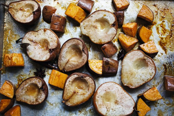 Recipe: Cider-glazed Sweet Potatoes and Pears from Charlie Palmer