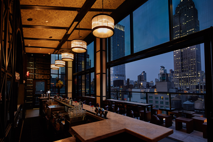Spyglass Rooftop Bar at Archer Hotel New York