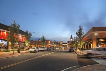 Wegmans and other retail shops and restaurants at 3rd Avenue, Burlington, MA for use by Nordblom Company | Archer Hotel Burlington