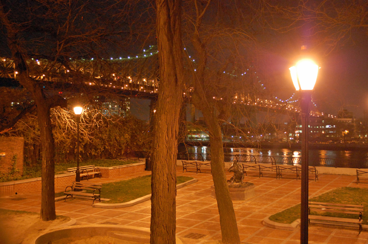 Sutton Place Park at Night | Archer Hotel New York