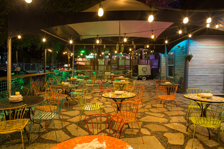 Photo courtesy of G'Raj Mahal Café & Lounge | Austin in Spring: Outdoor Activities | Archer Hotel Austin