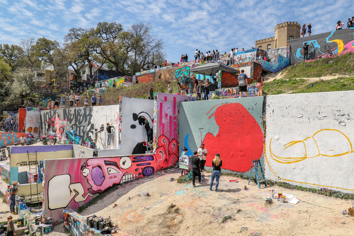 Photo courtesy of the HOPE Outdoor Gallery and photographer Kendra Gorleski | Austin in Spring: Outdoor Activities | Archer Hotel Austin