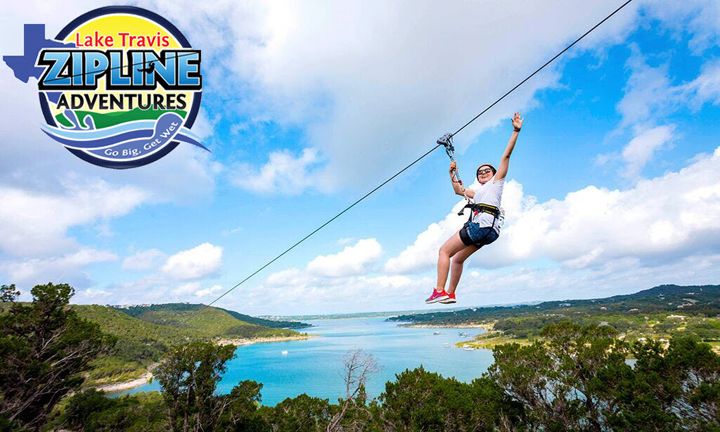 Photo courtesy of Lake Travis Zipline Adventures | Austin in Spring: Outdoor Activities | Archer Hotel Austin