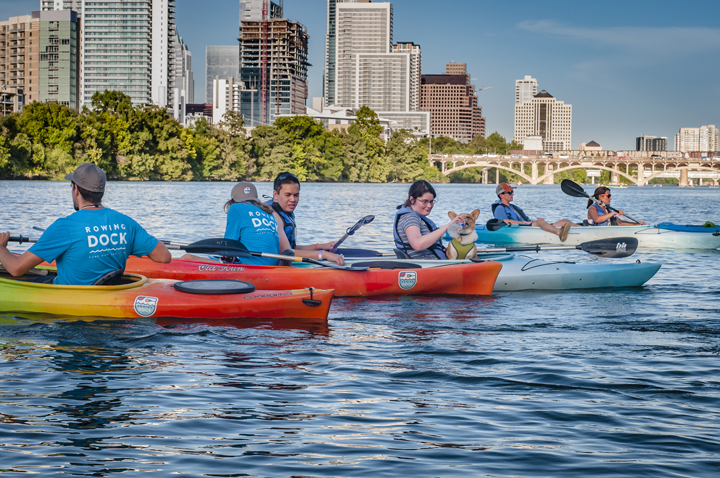 Photo courtesy of Rowing Dock and photographer Jeff Campbell | Austin in Spring: Outdoors Activities | Archer Hotel Austin