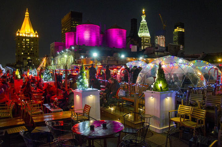 Photo courtesy of 230 Fifth Rooftop Bar | NYC Rooftop Bar | Archer Hotel New York