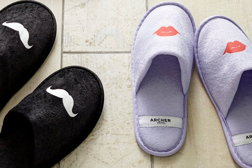 Archer Hotel Austin — Slippers | 7 Fun Facts About Archer