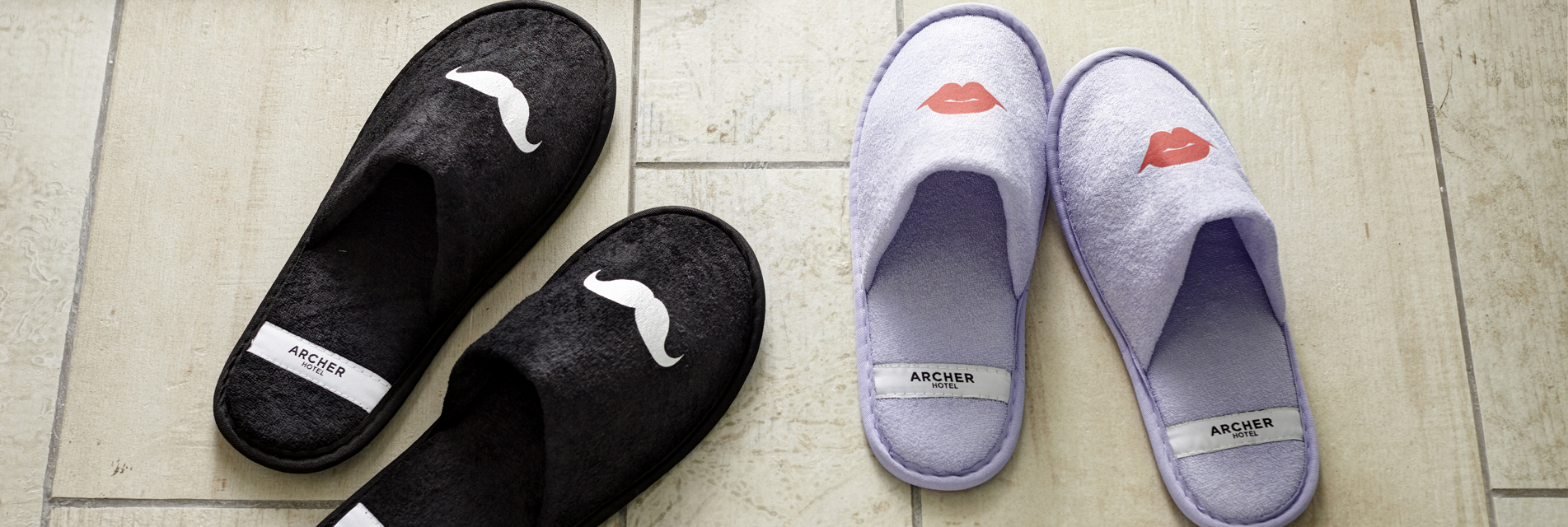 Slippers at Archer Hotel Austin   7 Fun Facts About Archer