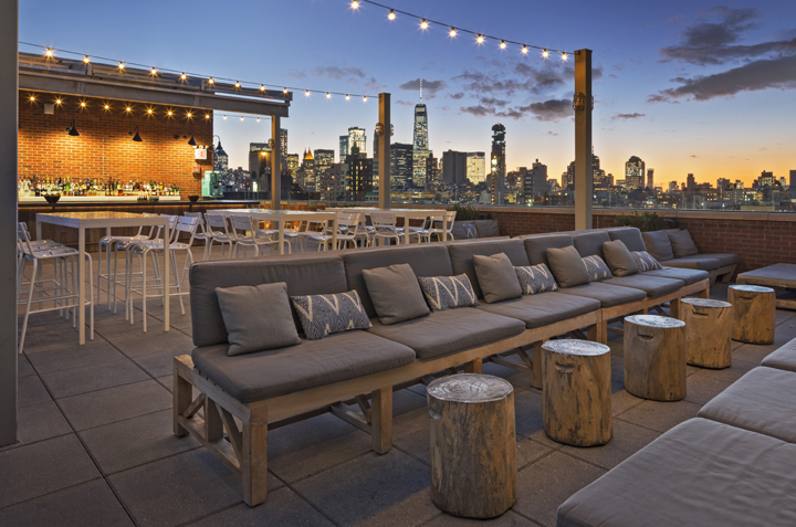 Photo courtesy of Mr. Purple | NYC Rooftop Bar