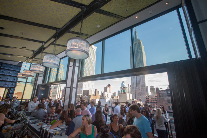 Spyglass Rooftop Bar — Archer Hotel New York | NYC Rooftop Bar | Archer Hotel New York