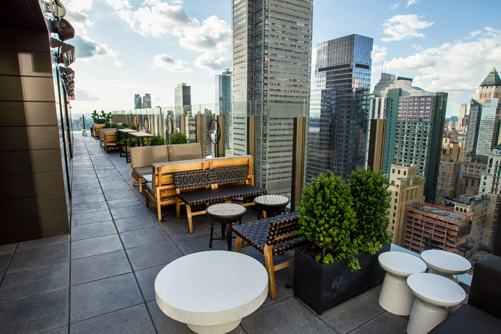 Photo courtesy of The Skylark | NYC Rooftop Bar | Archer Hotel New York