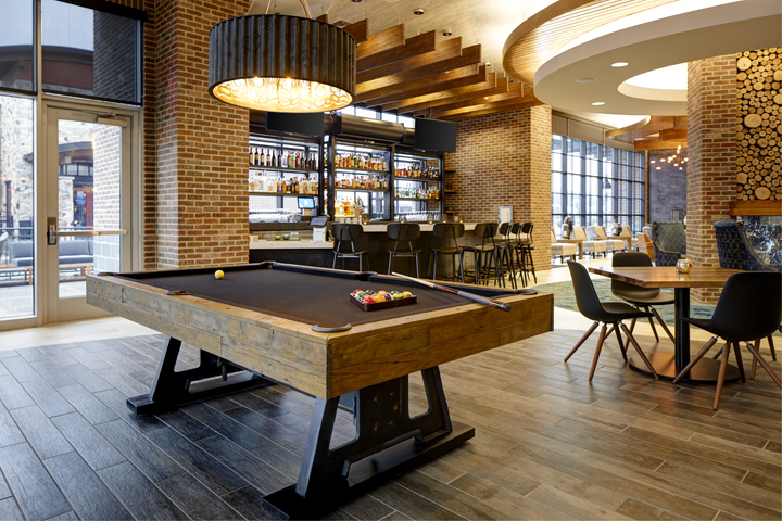Billiards at Archer's Bar | Welcome to Archer Hotel Burlington