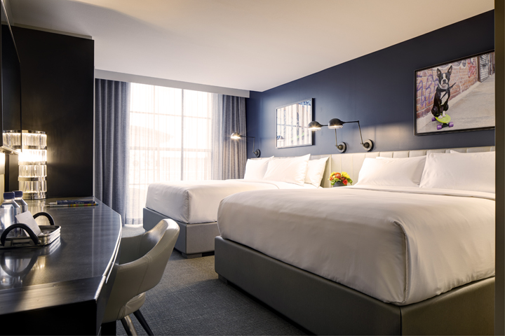 Double King Guest Room | Welcome to Archer Hotel Burlington