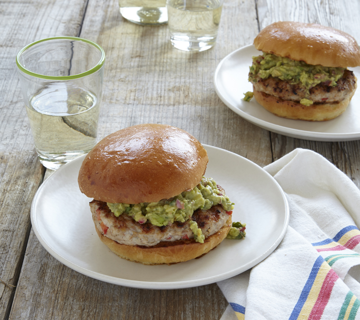 Chicken Burgers With Guacamole | Charlie Palmer Group | Archer Hotel Napa