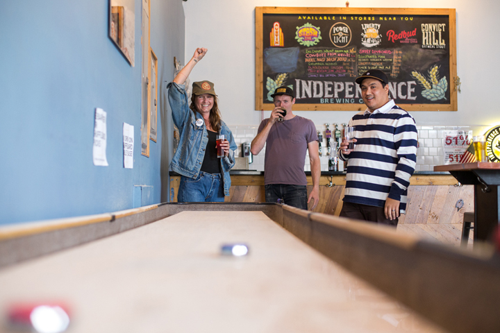 Photo by Julia Keim, courtesy of Independence Brewing Co. | Austin's Best Breweries | Archer Hotel Austin