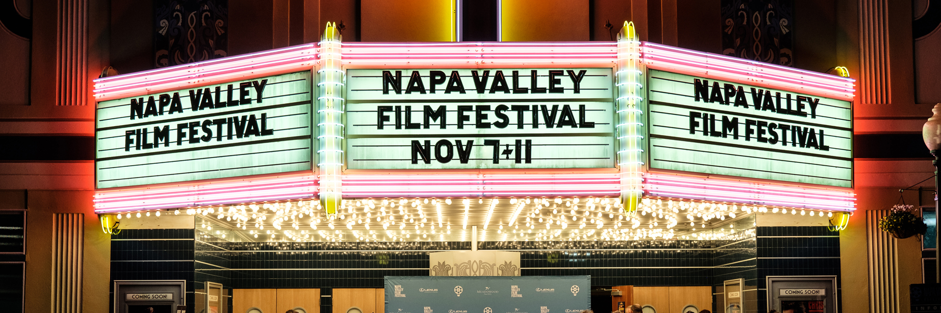 Archer + Napa Valley Film Festival 2018