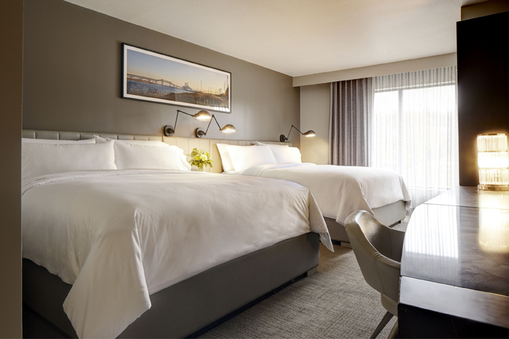 Double King Guest Room | Welcome to Archer Hotel Florham Park