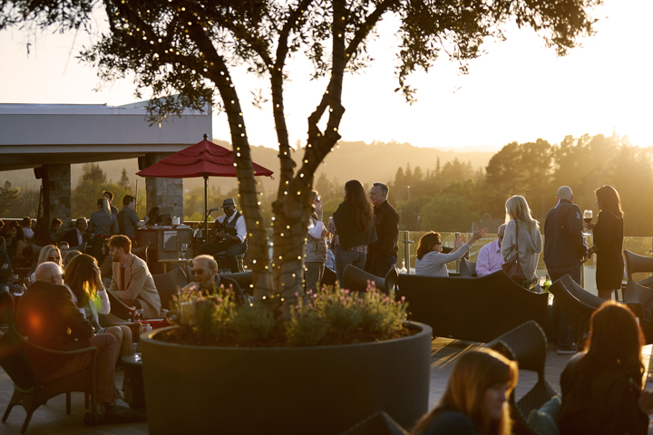 Sky & Vine Rooftop Bar at Archer Hotel Napa | Archer and Napa Valley Film Festival