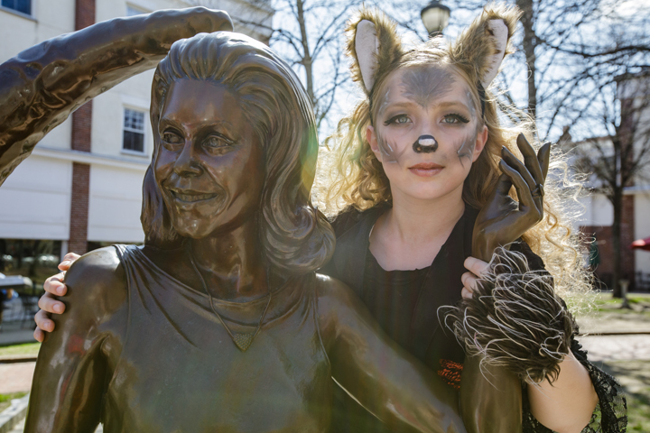 """Bewitched"" statue — photo courtesy of Destination Salem 