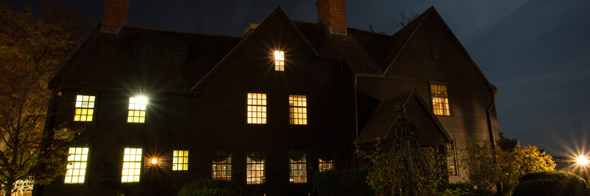 House of the Seven Gables — Salem MA — credit Jared Charney | More Salem Haunted Happenings