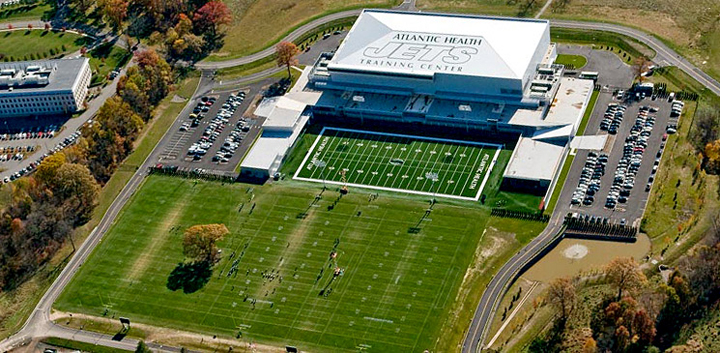 New York Jets training facility — photo courtesy of the New York Jets | Welcome to Florham Park
