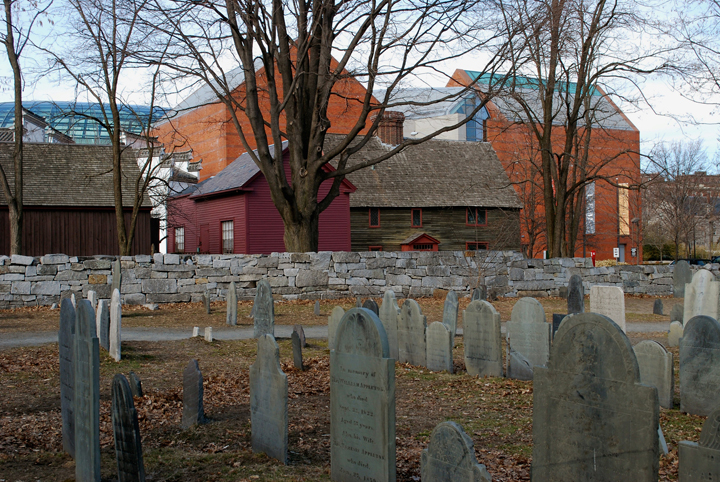 Old Burying Point Cemetery — photo courtesy of Jasmine Gordon | Salem Haunted Happenings