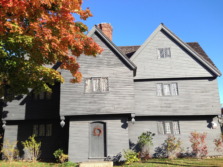 The Witch House — photo courtesy of Kate Fox | Salem Haunted Happenings