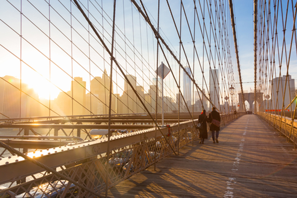 Brooklyn Bridge — Photo courtesy of Shutterstock — 266920265 | Autumn in New York | Archer Hotel New York
