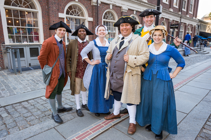 Photo courtesy of The Freedom Trail Foundation | Family Fun In + Around Burlington
