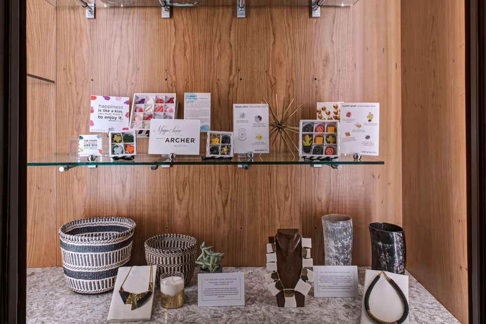 Archer Austin Hotel Curated Souvenirs Detail