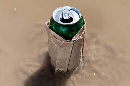 Beer Puddle, 2013 — Print by Bobby Scheidemann