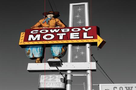 Cowboy Motel — Mural by Wyatt McSpadden