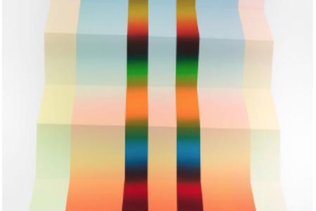 KXTA Field II, 2015 — Screenprint by Jeffrey Dell