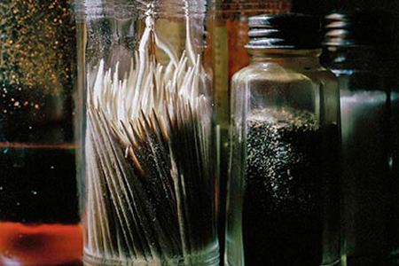 Toothpicks at Louie Mueller's BBQ, Taylor, TX, 2011 — Photograph by Wyatt McSpadden