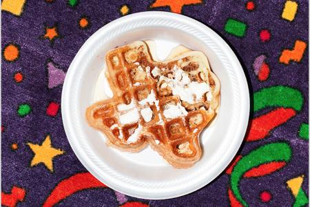 Texas Waffle, 2013 — Print by Bobby Scheidemann